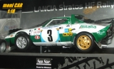 LANCIA Stratos HF Rally No.3 - S. Munari - L. Drews Safari Rally 1975 (1:18) SUN STAR