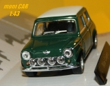 AUSTIN MINI COOPER WITH RACING SPORTLIGHTS (1:43) Cararama