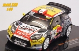 CITROEN DS WRC No.001 - S. Loeb - S. Loeb Winner RallyCircuit Paul Ricard 2016 (1:43) IXO