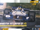 Tyrrell P34 No.3 - Ronnie Peterson - 1977 JAPAN GP - kit  (1:20) FUJIMI