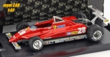 FERRARI 126 C2 No.28 - Didie Pironi - Winner Long Beach GP 1982 (1:43) BRUMM