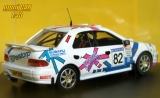 SUBARU Impreza  4x4 Turbo No.82 - G. Petch P. Croft - Malcolm Wilson Rally 1996 (1:43) TROFÉU