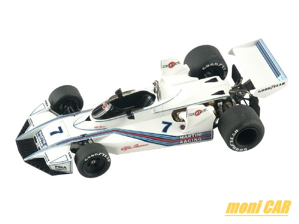 TAMEO KITS TMK 312 Brabham Alfa Romeo BT 45 Press Version 1975 (built 1:43)