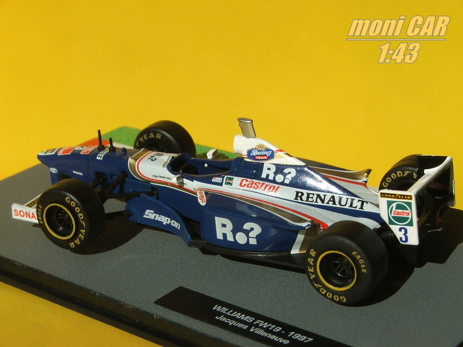 WILLIAMS Renault FW19 No.3 Jacques Villeneuve 1997 (1:43) Altaya/IXO