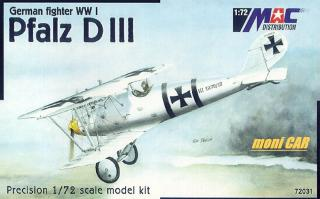 MAC DISTRIBUTION 72031 Pfalz D.III (1:72)