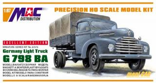 MAC DISTRIBUTION 87079 Germany Llight Truck G 798 BA (1:87)