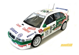 FOX18 Škoda Octavia WRC Evo2 n. 11 4th Rally Monte Carlo 2001 (1:18)