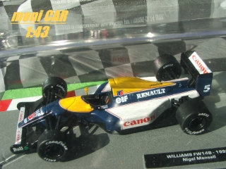WILLIAMS FW148 Nigel Mansell 1992 (1:43) Altaya/IXO