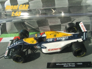 WILLIAMS FW15C Alain Prost 1993 (1:43) Altaya/IXO