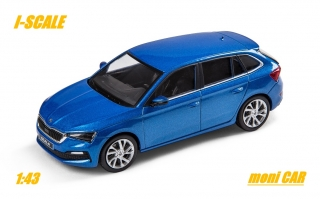 ŠKODA SCALA (1:43) Blue Race  I-SCALE