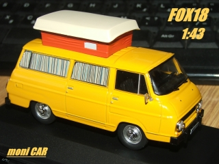 Škoda 1203 CAMPING Open roof (1:43) FOX18