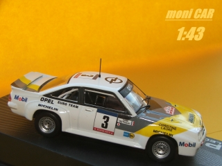 OPEL Manta B 400 1981-1984 No.3 Tour de Corse (1:43) Opel Collection