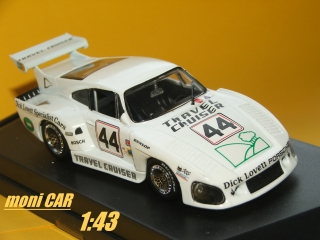 PORSCHE 935 Turbo Kremer LeMans 1981 (1:43) Quartzo