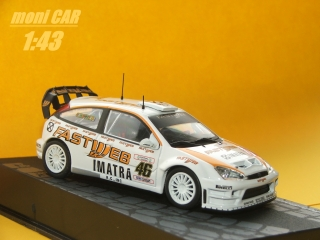 FORD Focus RS WRC No.46 - V. Rossi - C. Cassina Monza Rally Show 2006 (1:43) Altaya/IXO