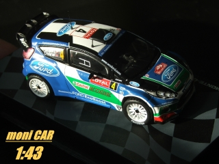 FORD Fiesta RS WRC P. Solberg - C. Patterson Rally Monte Carlo 2012 (1:43) Altaya/IXO