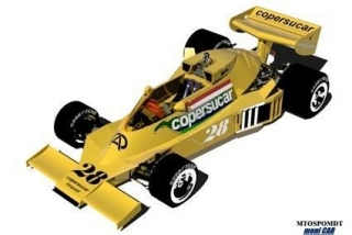 MB022 MB modelcars Fittipaldi FD04 Ford - GP Argentina 1977 (kit) (1:43)