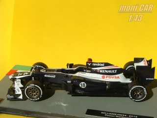 WILLIAMS FW34 No.18 Pastor Maldonado 2012 (1:43) Altaya/IXO