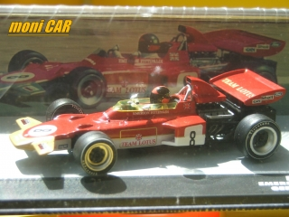 LOTUS 72D No.8 Emerson Fittipaldi GERMANY GP 1971 (1:43) ALTAYA