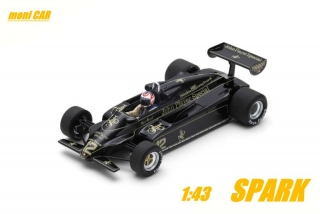 LOTUS 91 No.12 - Nigel Mansell - Brazil GP 1982 (1:43) SPARK