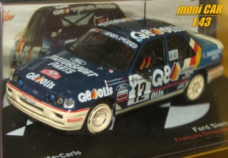 FORD Sierra RS Cosworth 4X4  Francois Delecour - Anne-Chantal Pauwels  Rally Monte Carlo 1991 (1:43) Altaya/IXO