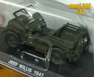 JEEP Willis 1947 (1:43) DeAgostini