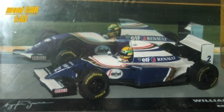 WILLIAMS FW16 No.2 Ayrton Senna Brazil GP 1994 (1:43) Alltaya/IXO