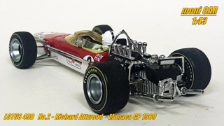 LOTUS 49B No.2 Richard Attwood GP Monaco 1969 (1:43) QUARTZO