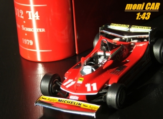 FERRARI 312 T4 No.11 - Jody Schecter - Winner Monaco GP 1976 (1:43) HOT WHEELS